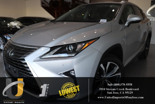 2017 Lexus RX in San Jose, CA