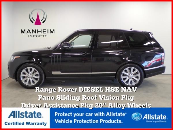 2016 Land Rover Range Rover HSE Td6