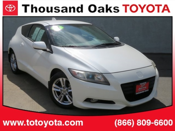 Honda Thousand Oaks >> 2012 Honda Cr Z Ex With Navigation Cvt For Sale In Thousand Oaks Ca