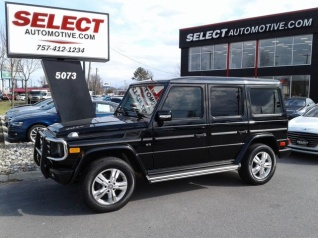 Used 2010 Mercedes Benz G Class G 550 4MATIC For Sale In Virginia Beach