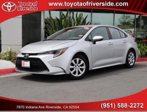 2020 Toyota Corolla in Riverside, CA