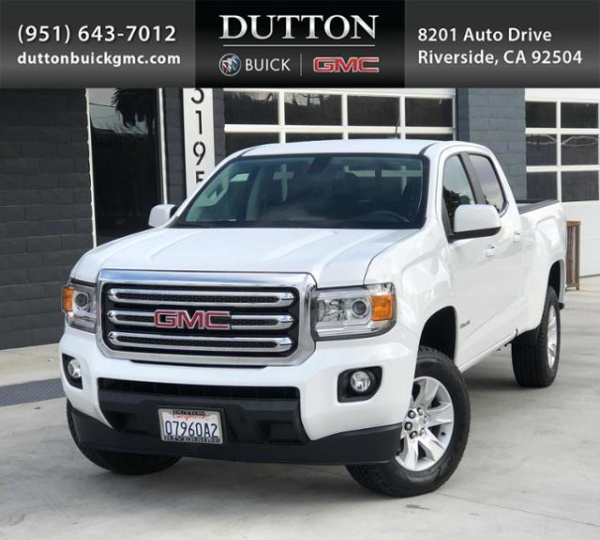 2016 GMC Canyon SLE Crew Cab Standard Box 2WD For Sale In