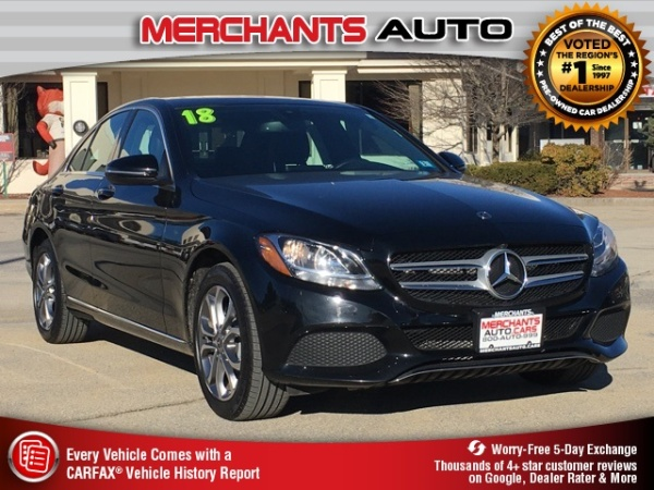 2018 Mercedes-Benz C-Class in Hooksett, NH