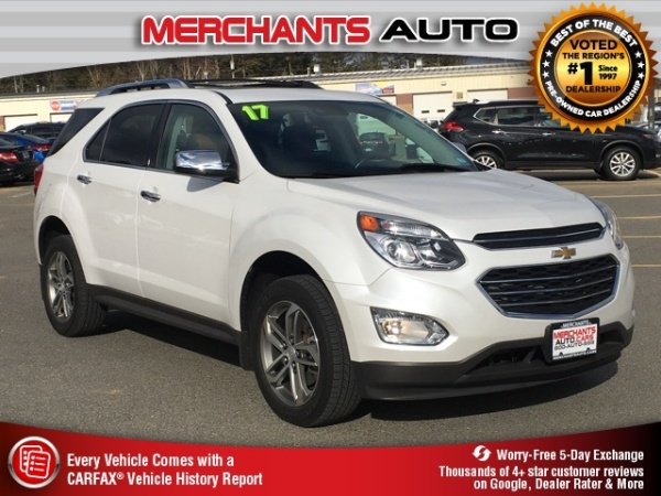 2017 Chevrolet Equinox in Hooksett, NH