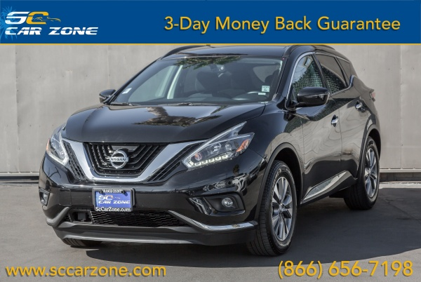 Costa Mesa Nissan >> 2018 Nissan Murano Sv Fwd For Sale In Costa Mesa Ca Truecar