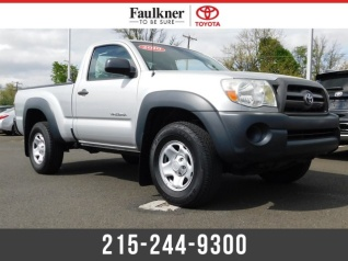 2010 Toyota Tacoma Regular Cab I4 4wd Manual For In Trevose Pa