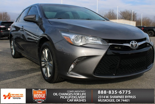 Toyota Of Muskogee >> 2017 Toyota Camry Se I4 Automatic For Sale In Muskogee Ok