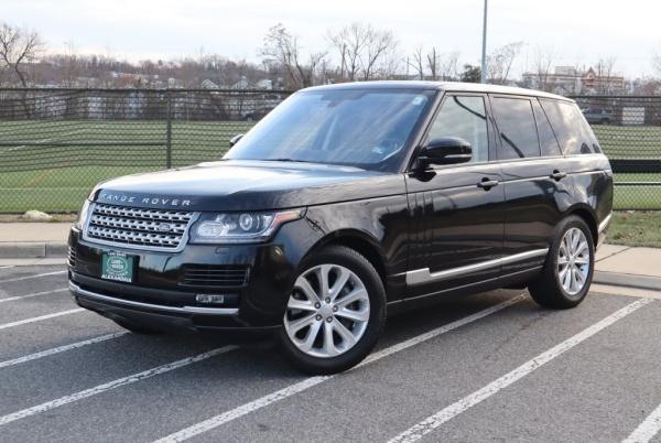 2016 Land Rover Range Rover in Alexandria, VA