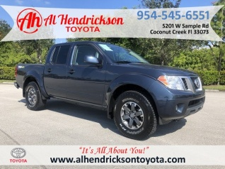 2018 Nissan Frontier Pro 4x Crew Cab 4wd Auto For In Coconut Creek