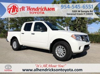 2018 Nissan Frontier Sv V6 Crew Cab 2wd Auto For In Coconut Creek Fl