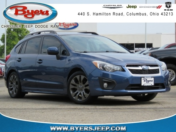 2013 Subaru Impreza 20i Sport Limited Wagon Auto For Sale In