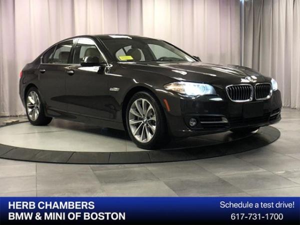 2016 BMW 5 Series in Boston, MA