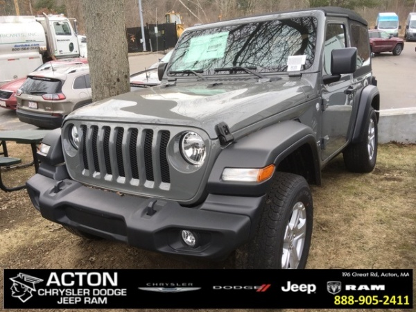 2019 Jeep Wrangler in Acton, MA