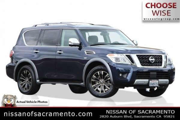 2017 Nissan Armada in Sacramento, CA