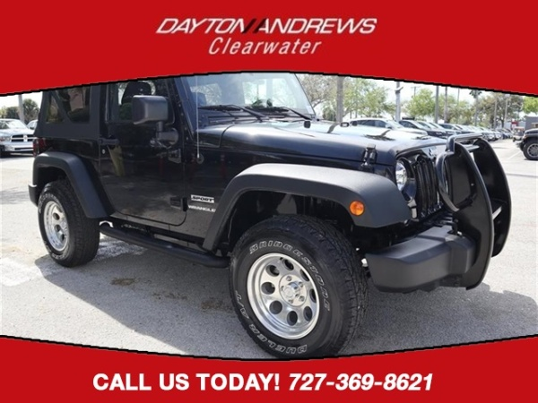 2016 Jeep Wrangler in Clearwater, FL