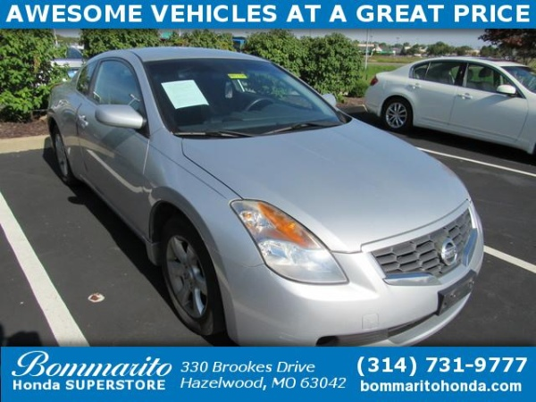 2008 Nissan Altima 2.5 S Coupe Manual