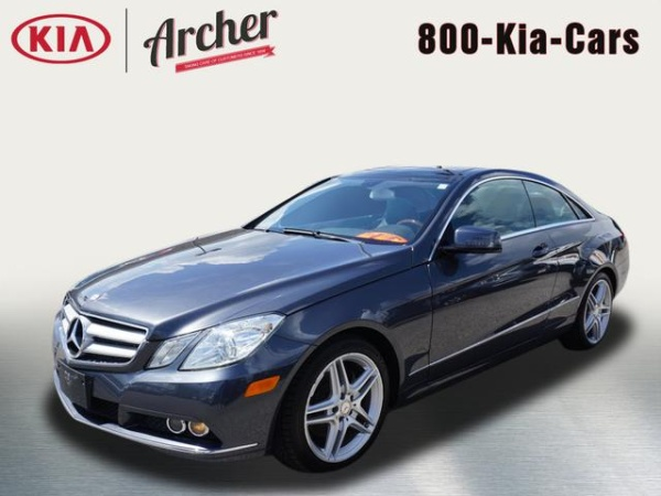 2011 Mercedes Benz E Class E 350 Coupe Rwd For Sale In Houston Tx