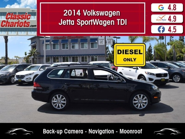2014 Volkswagen Jetta SportWagen TDI DSG For Sale in Vista