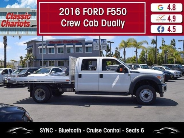 2016 Ford Super Duty F-550 XLT