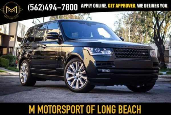 2017 Land Rover Range Rover in Long Beach, CA
