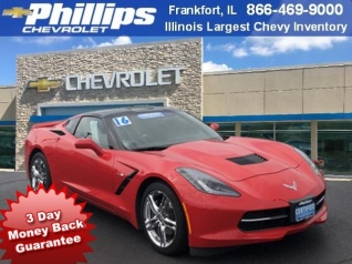 2016 Chevrolet Corvette Stingray With 1lt Coupe For In Frankfort Il