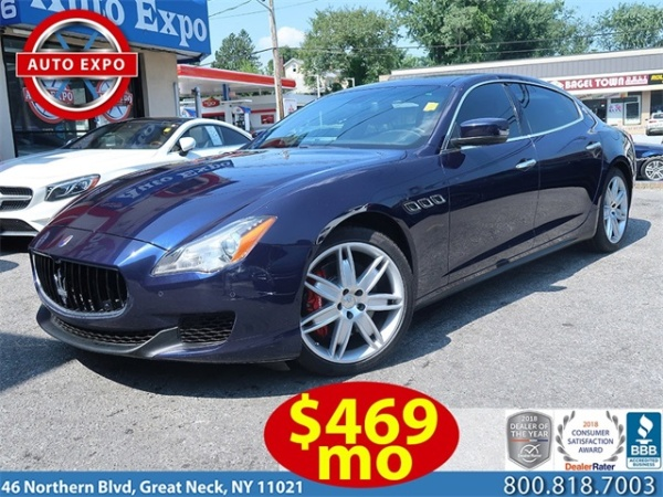 2015 Maserati Quattroporte S Q4 Rwd For Sale In Great Neck Ny Truecar