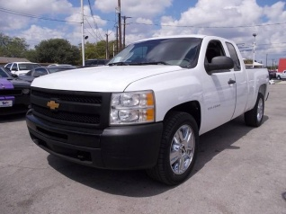 Exceptional Used 2013 Chevrolet Silverado 1500 Work Truck Extended Cab Standard Box 4WD  For Sale In San