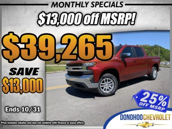 2019 Chevrolet Silverado 1500 in Fort Payne, AL