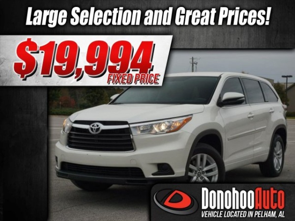 2016 Toyota Highlander in Pelham, AL
