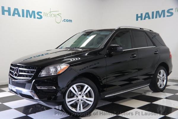 2015 Mercedes-Benz ML