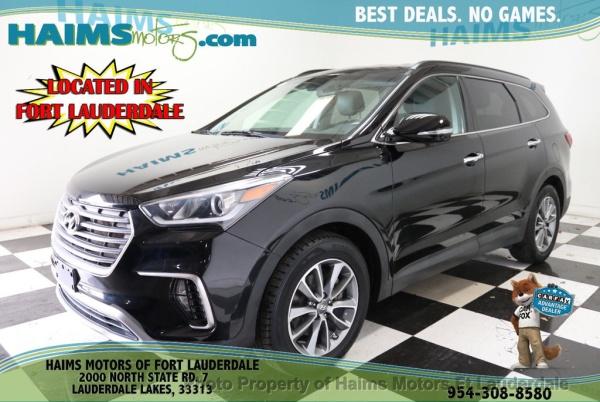 2017 Hyundai Santa Fe in Lauderdale Lakes, FL
