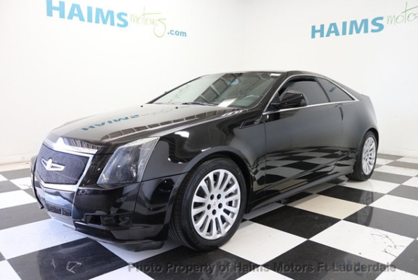 2012 Cadillac Cts Coupe 3 6 Rwd Automatic For Sale In