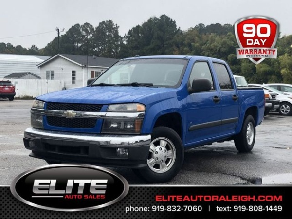 2008 Chevrolet Colorado Lt With 1lt Crew Cab Short Box 2wd For Sale
