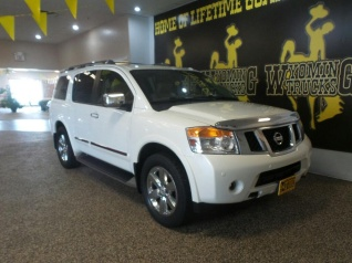 Superb Used 2014 Nissan Armada Platinum 4WD For Sale In Rock Springs, WY