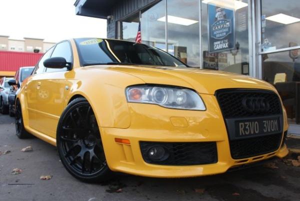 2007 Audi RS 4 RS 4