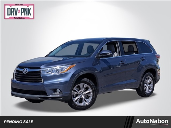 2016 Toyota Highlander in Las Vegas, NV