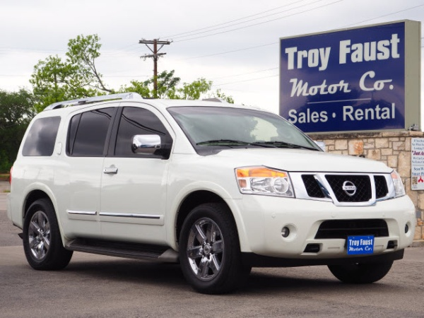 2014 Nissan Armada Platinum Rwd For Sale In Kerrville Tx Truecar
