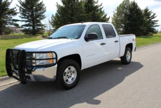 Used 2013 Chevrolet Silverado 1500 LT Crew Cab Short Box 4WD For Sale In Great  Falls