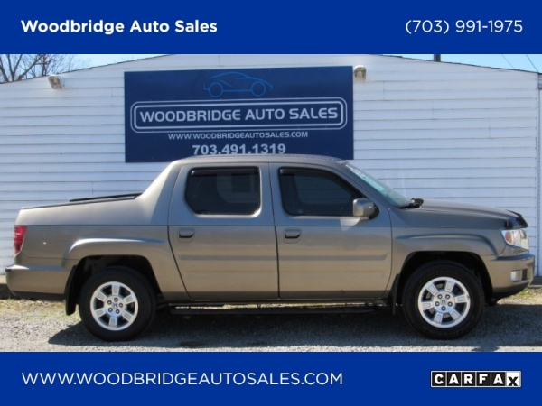 2010 honda ridgeline rts 4wd for sale in woodbridge va truecar. Black Bedroom Furniture Sets. Home Design Ideas