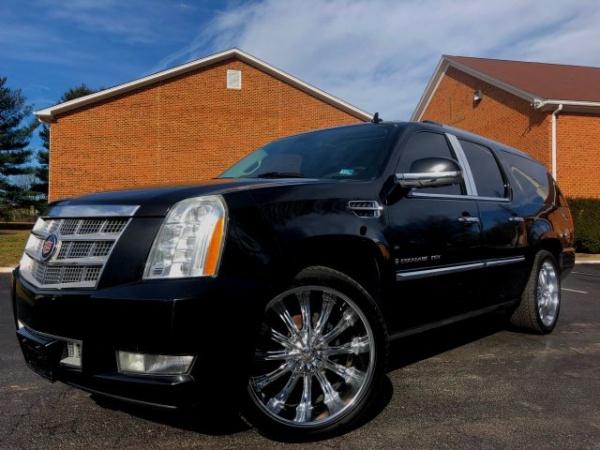 2009 Cadillac Escalade Esv Platinum Edition Awd