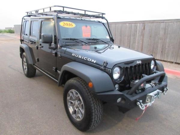2016 Jeep Wrangler in Amarillo, TX
