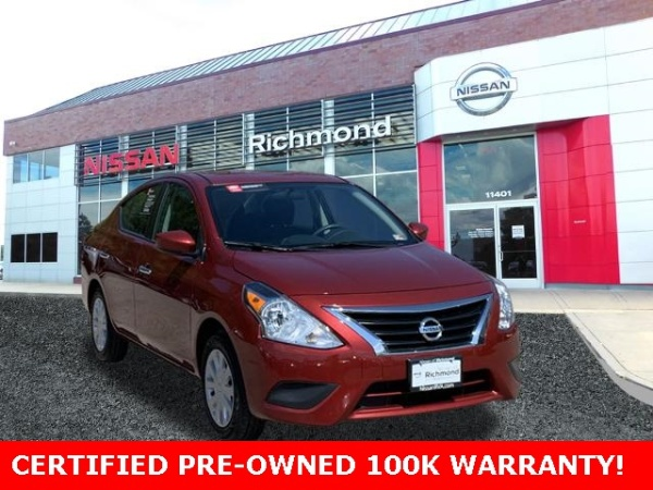 2018 Nissan Versa in Richmond, VA