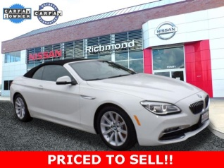 2017 Bmw 6 Series 640i Convertible For In Richmond Va