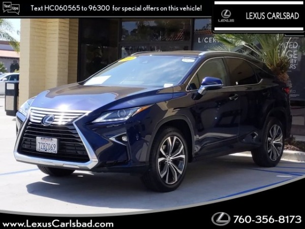 2017 Lexus RX in Carlsbad, CA