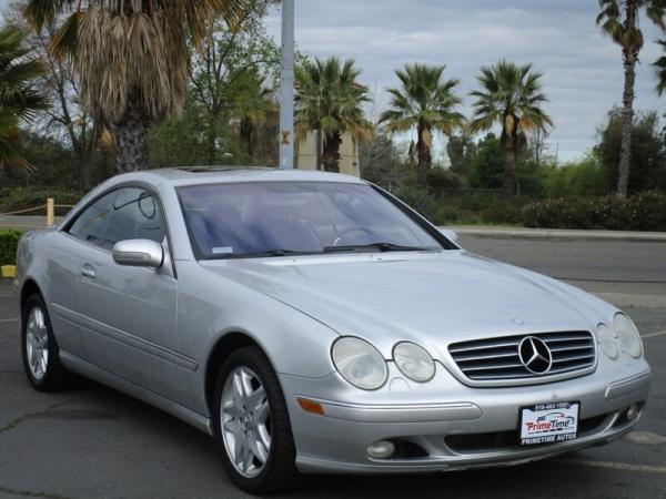 2002 Mercedes-Benz CL-Class CL 500