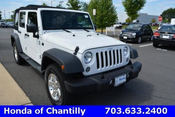 2016 Jeep Wrangler in Chantilly, VA