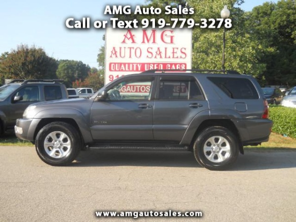 2005 Toyota 4runner Sr5 V8 4wd Automatic For Sale In Raleigh Nc