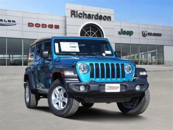2020 Jeep Wrangler in Richardson, TX