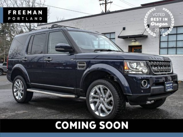 2016 Land Rover LR4 in Portland, OR