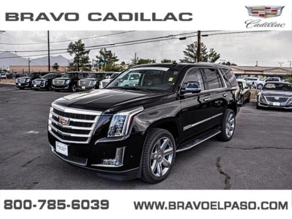 Bravo Cadillac El Paso Tx >> 2018 Cadillac Escalade Luxury 4wd For Sale In El Paso Tx